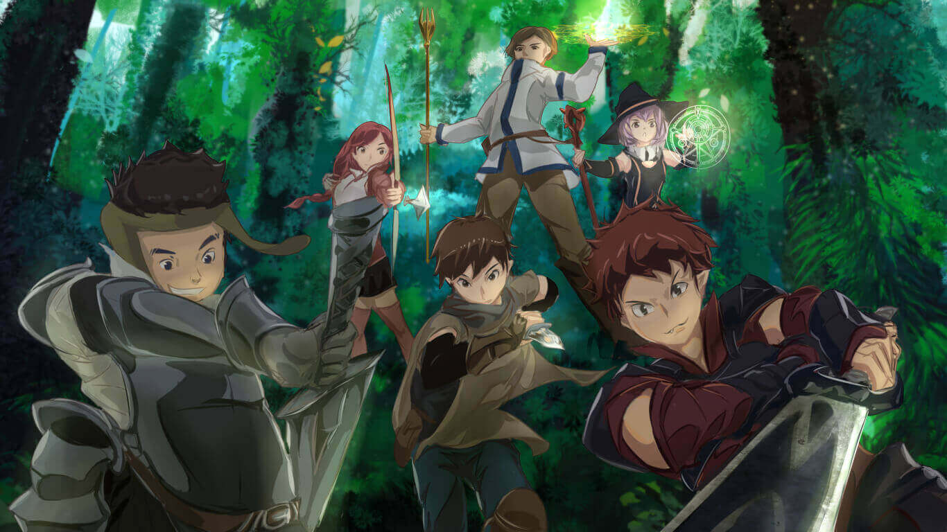 Hai to Gensou no Grimgar BD Subtitle Indonesia Batch