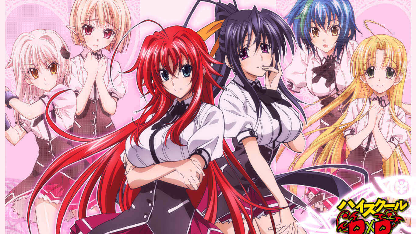 High School DxD S3 BD Subtitle Indonesia Batch
