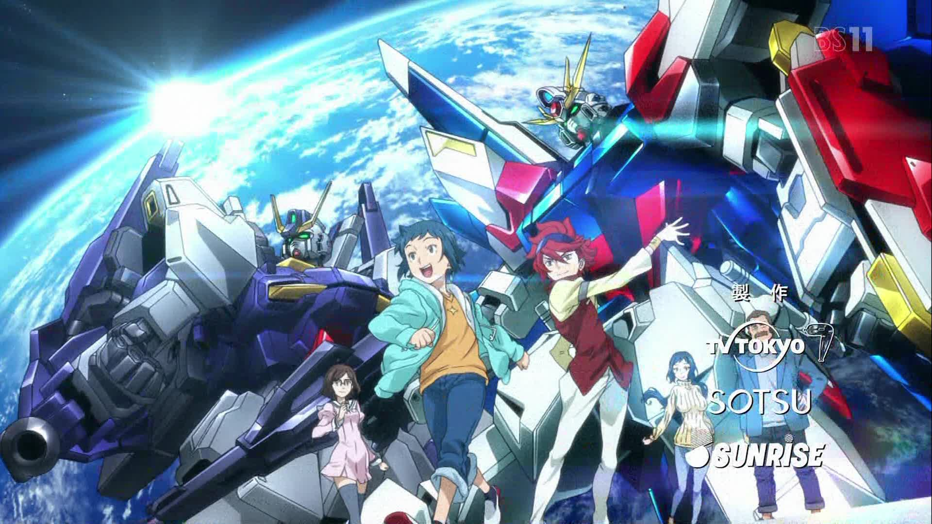 Gundam Build Fighters BD Subtitle Indonesia Batch