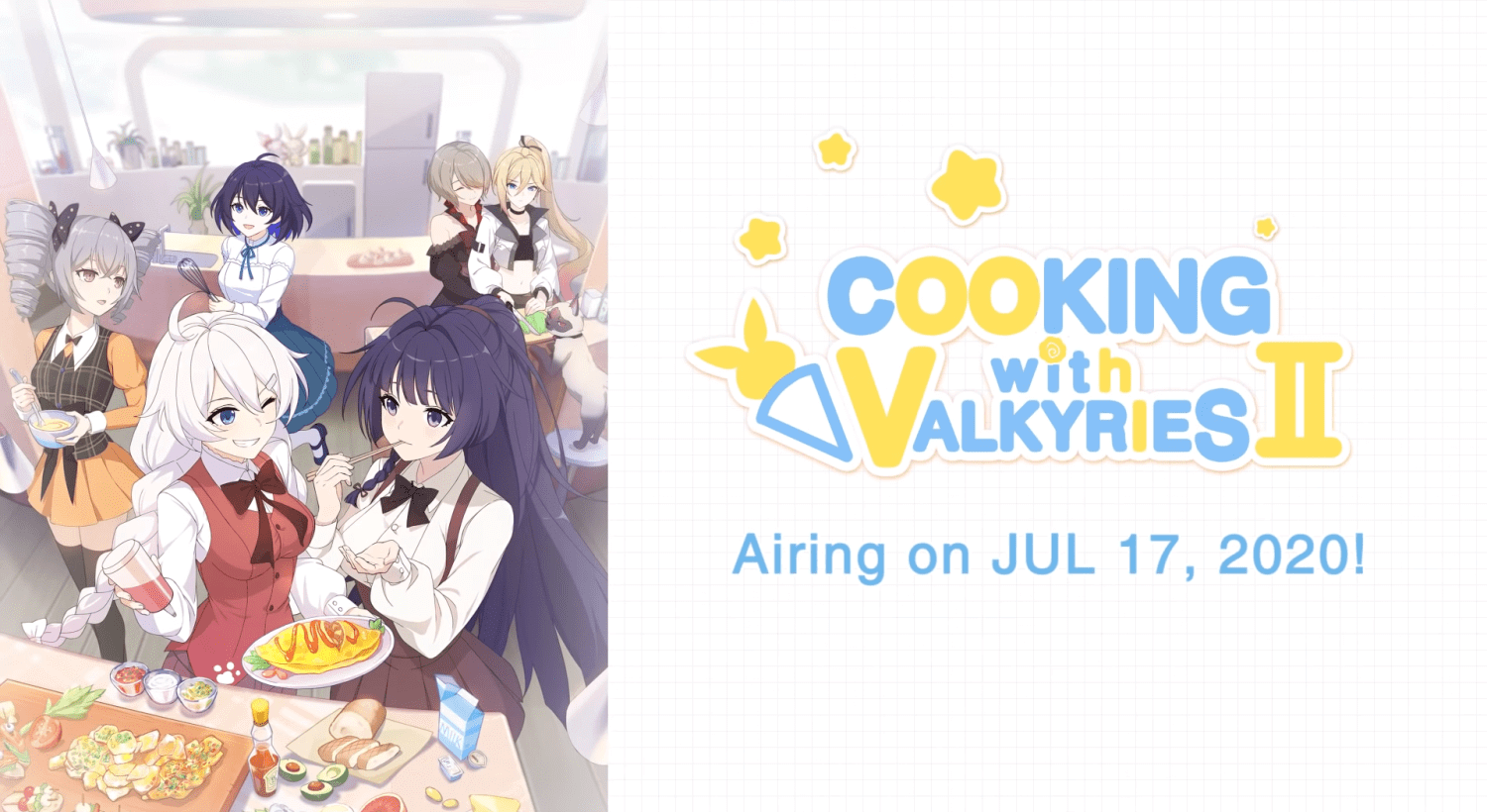 Cooking with Valkyries Season 2 Batch Episode 01-08 [END] Subtitle Indonesia