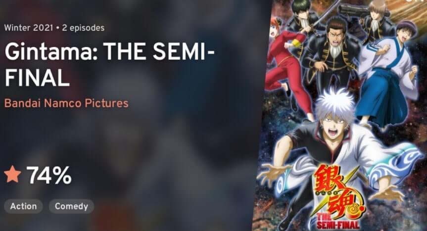 Gintama: The Semi-Final Episode 02 Sub Indo