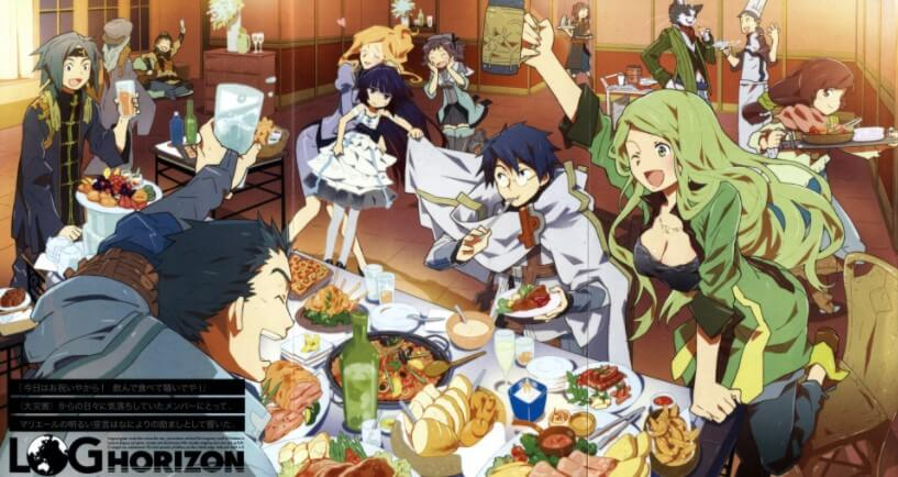 Log Horizon Season 3 Episode 01 Sub Indo