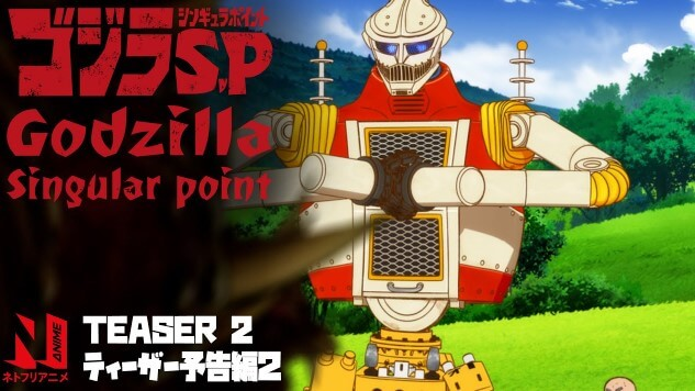 Godzilla Singular Point Episode 02 Sub Indo