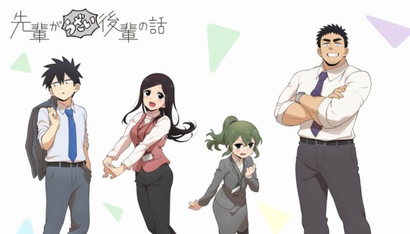 Senpai ga Uzai Kouhai no Hanashi Episode 03 Sub Indo